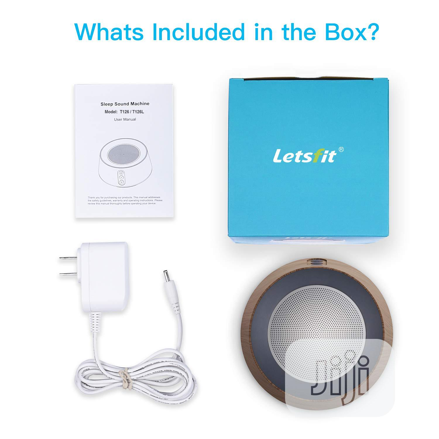 USA White Noise Machine For Baby Sleep & Relaxation, Letsfit Sound | Baby & Child Care for sale in Alimosho, Lagos State, Nigeria