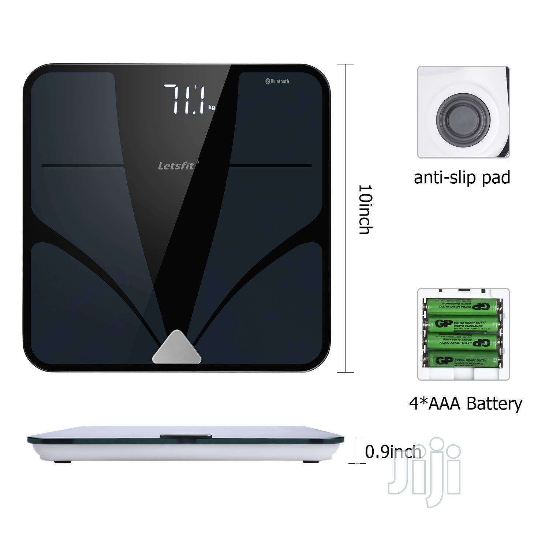 USA Letsfit Bluetooth Body Fat Scale, Smart Wireless Digital Bathroom | Home Appliances for sale in Alimosho, Lagos State, Nigeria