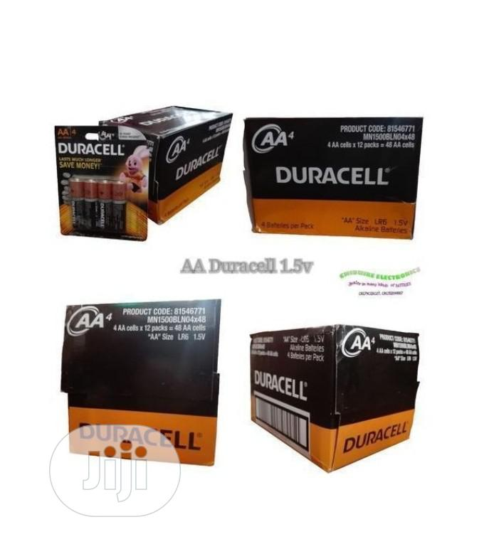 Duracell DURACELL Alkaline AA 1.5V Battery | Accessories & Supplies for Electronics for sale in Ajah, Lagos State, Nigeria
