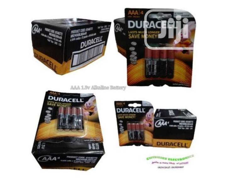 Duracell AAA 1.5volts Alkaline Battery, 1 Pack/12 Cards