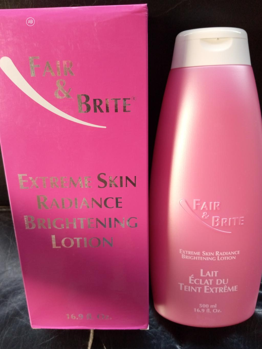 Archive: Fair Bright Extreme Skin Radiance Brightening Lotion Made in Paris