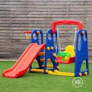 Playground Set With Swing, Slide and Basketball Hoop   Toys for sale in Lagos State, Ikeja
