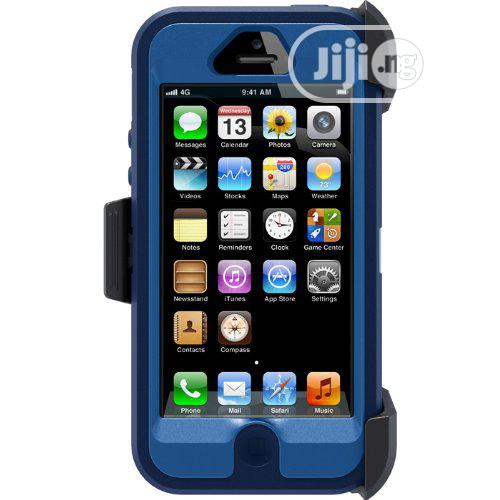 Otterbox Defender Case for iPhone 5/5s - Blue 77-24280 | Accessories for Mobile Phones & Tablets for sale in Agboyi/Ketu, Lagos State, Nigeria