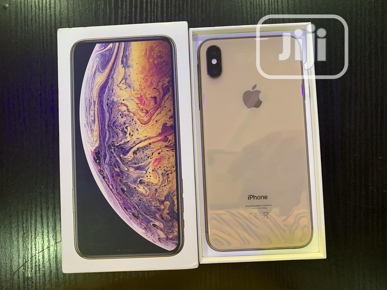 Apple iPhone XS Max 512 GB Gold | Mobile Phones for sale in Benin City, Edo State, Nigeria