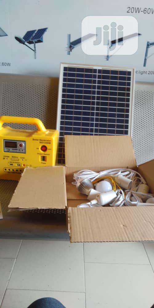 Archive: Solar Generators