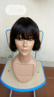 Short Fringe Human Hair Wig   Hair Beauty for sale in Lagos State, Ikeja