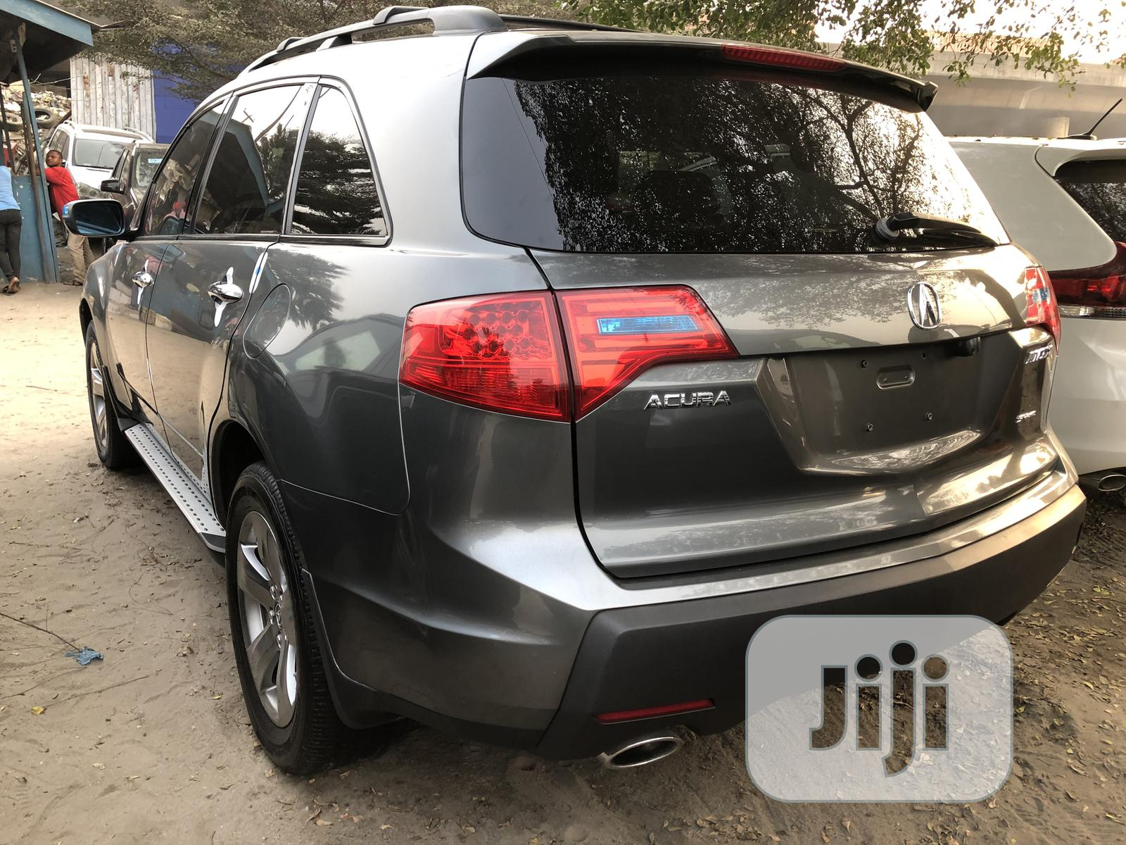 Archive: Acura MDX 2008 Gray