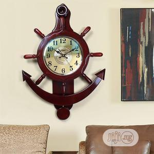 Wooden Pendulum Decor Wall Clock | Home Accessories for sale in Lagos State, Lagos Island (Eko)
