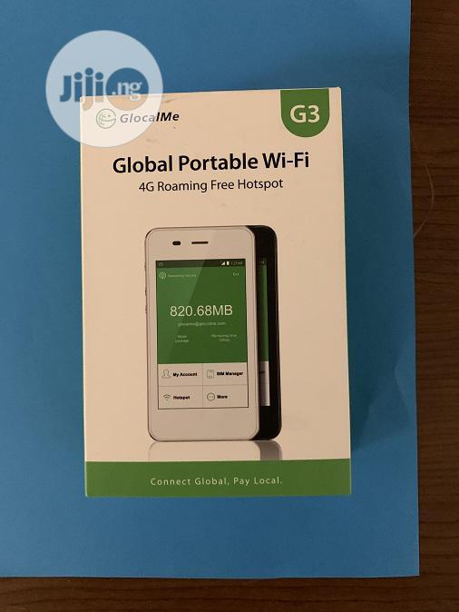 Wifi Roaming Hotspot Glocalme G3 Global 4G 5200mah Powerbank