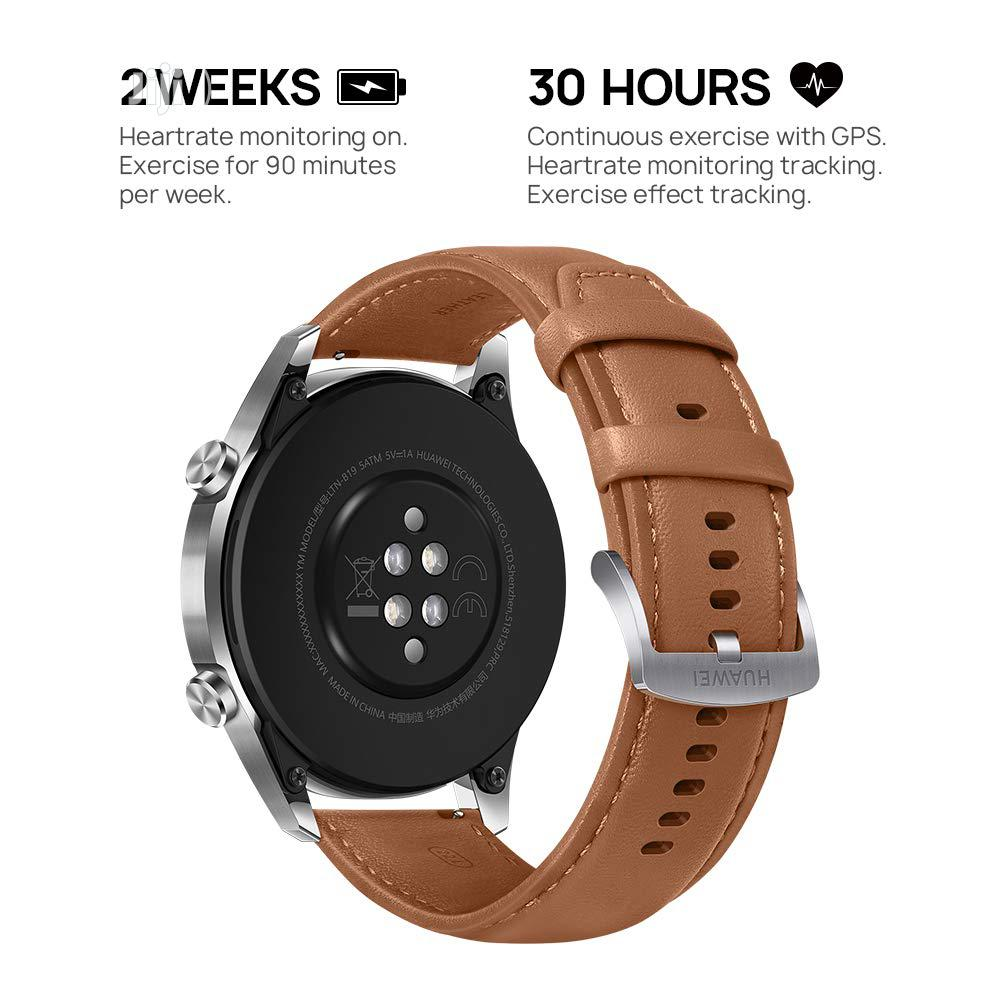 HUAWEI Watch GT 2 2019 Bluetooth Smartwatch - Brown