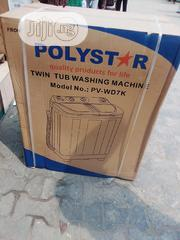 Polystar Washing Machine Top Load Twin Tube.   Home Appliances for sale in Lagos State, Ojo