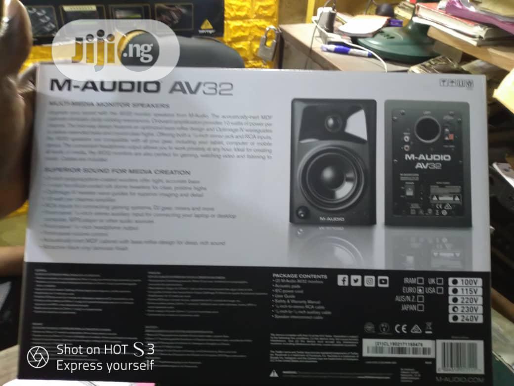 High Qaulity M - Audio Studio Monitor Speaker   Audio & Music Equipment for sale in Ojo, Lagos State, Nigeria