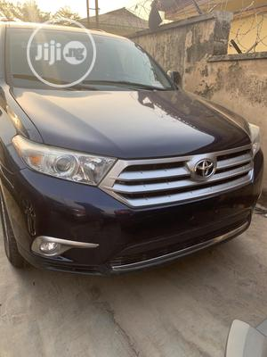 Toyota Highlander 2013 Plus 3.5L 4WD Blue   Cars for sale in Oyo State, Ibadan