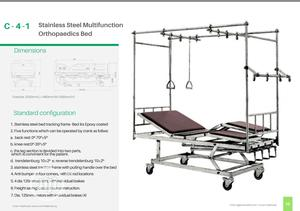 C-4-1 Stainless Steel Multi-function Orthopaedics Bed | Medical Supplies & Equipment for sale in Lagos State, Ikeja