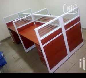 Office Friendly Work Station With Thick Frames Drawers. | Furniture for sale in Lagos State, Victoria Island