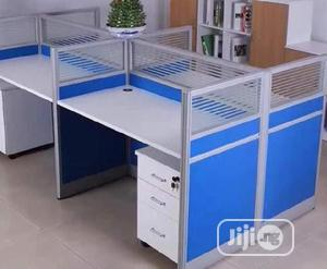 PREMIUM 4-In-1 WORK STATION With Mobile Drawers. | Furniture for sale in Lagos State, Victoria Island