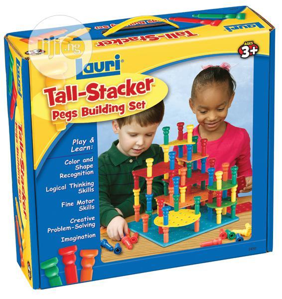 Lauri Talk Stacker Pegs Building Set