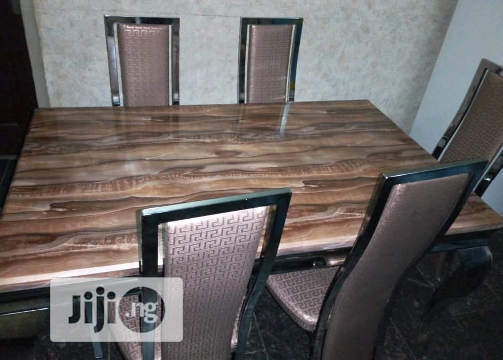 Marble Dinning Table And Chairs