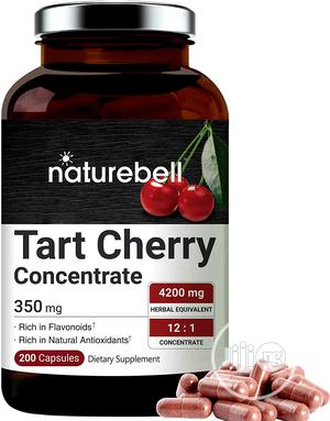 Nature Bell Organic Tart Cherry Concentrate 4200mg, 200 Capsules   Vitamins & Supplements for sale in Lagos State, Lekki