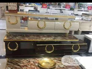 MP Luxury TV Stand + Drawers Attached. | Furniture for sale in Lagos State, Magodo