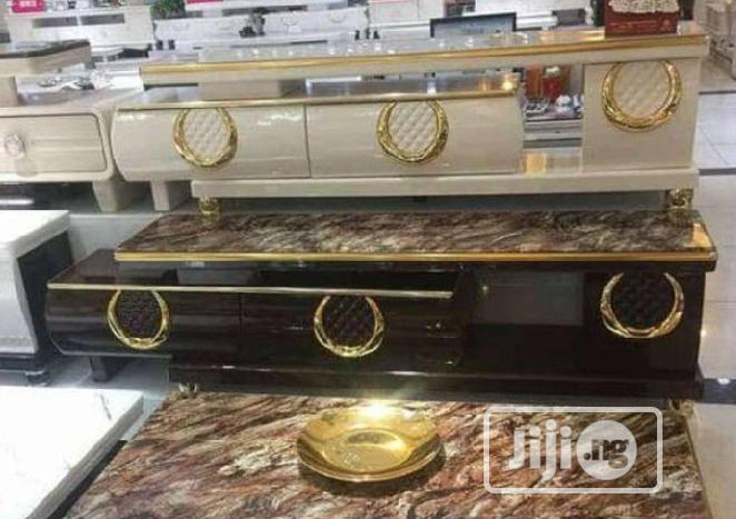 Drip Luxury Marble TV Stand