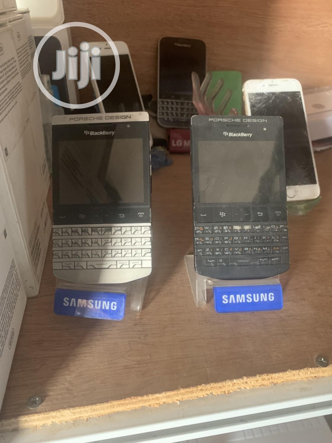 BlackBerry Porsche Design P'9981 8 GB Gray | Mobile Phones for sale in Ilorin West, Kwara State, Nigeria