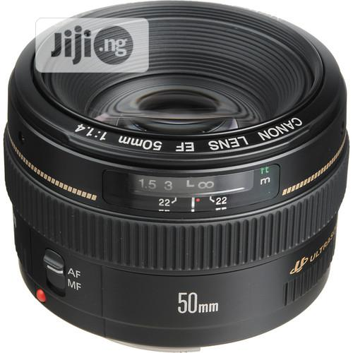 CANON Ef 50mm F/1.4 Usm Lens | Accessories & Supplies for Electronics for sale in Lagos Island, Lagos State, Nigeria