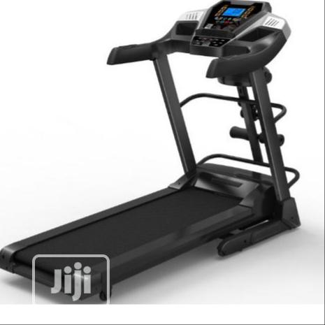 De Young 2.5HP Treadmill With Massager, Twister and Dumbbell,