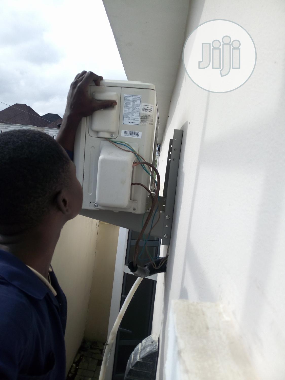 Installation Of Air-conditioner