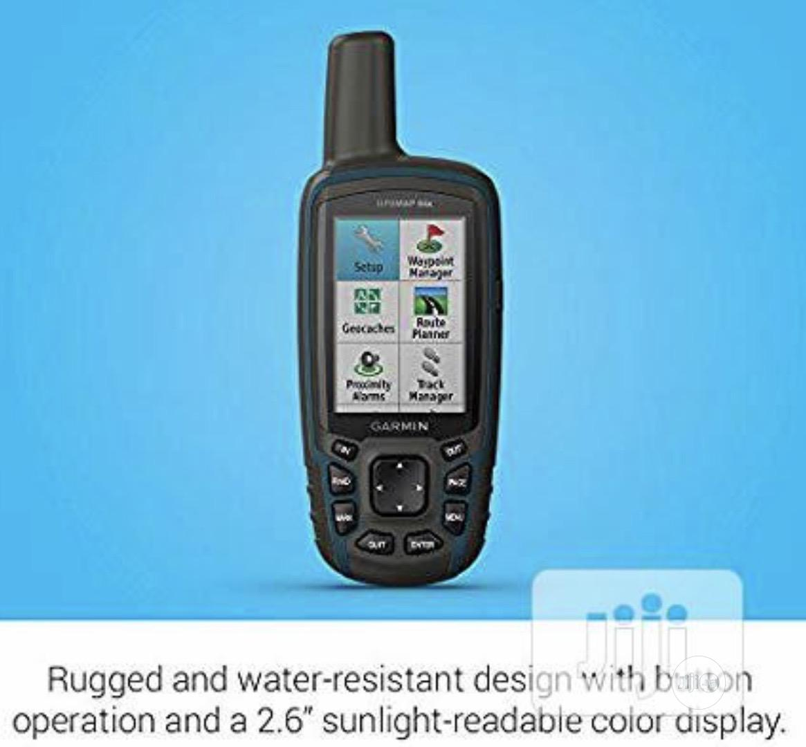 Garmin GPSMAP 64X,Handheld GPS,Preloaded With Topo Active Maps