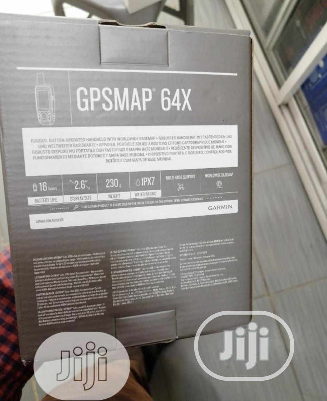 Garmin GPSMAP 64X,Handheld GPS,Preloaded With Topo Active Maps   Vehicle Parts & Accessories for sale in Ikeja, Lagos State, Nigeria