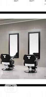Barber Chair With Mirror | Salon Equipment for sale in Lagos State, Lagos Island