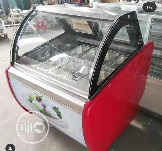 12pans Ice Cream Display Freezer