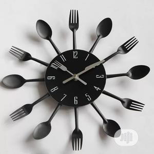Kitchen Themed Wall Clock | Home Accessories for sale in Lagos State, Alimosho
