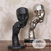 Retro Meditators Abstract Sculpture Man Smoking Cigar Creative Face | Arts & Crafts for sale in Lagos State, Lekki Phase 2
