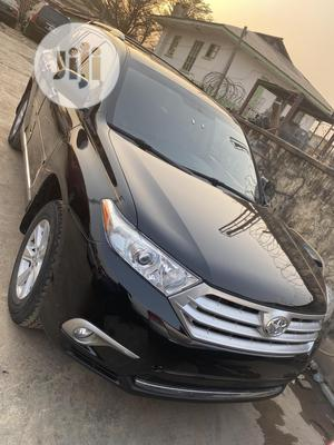Toyota Highlander 2013 Plus 3.5L 4WD Black | Cars for sale in Oyo State, Ido