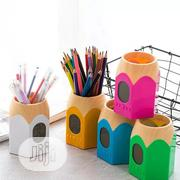 Pen Shape Pencil And Pen Holder With Digital Clock And Led Light. | Stationery for sale in Lagos State, Lagos Island