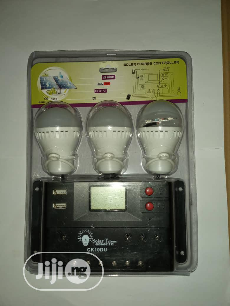 Solar Charge Controller 12V 10A &Amp; LED Lights | Solar Energy for sale in Ikorodu, Lagos State, Nigeria