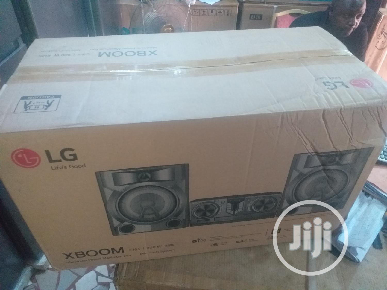 LG Xboom Mini Hi-fi System Model Number Cj65 900W