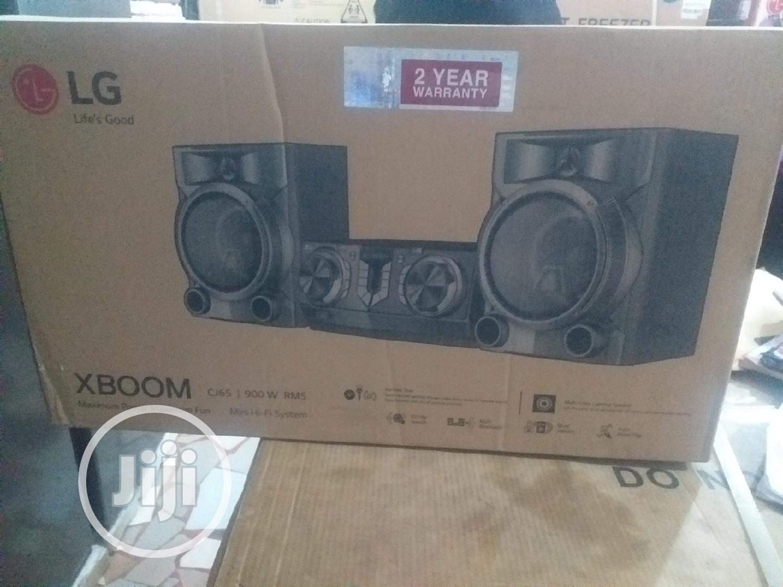 LG Xboom Mini Hi-fi System Model Number Cj65 900W | Audio & Music Equipment for sale in Ifako-Ijaiye, Lagos State, Nigeria
