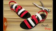 Black And White Sandals | Shoes for sale in Edo State, Benin City