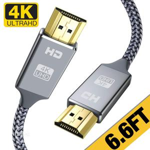 USA 4K HDMI Cable 6.6 Ft,Capshi High Speed 18gbps HDMI 2.0 Cable,   Accessories & Supplies for Electronics for sale in Lagos State, Alimosho
