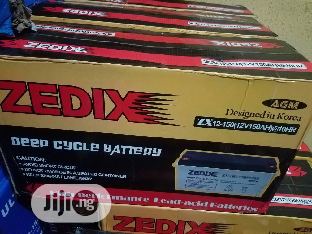 Archive: High Quality 12v 200ah Zedix Inverter Battery