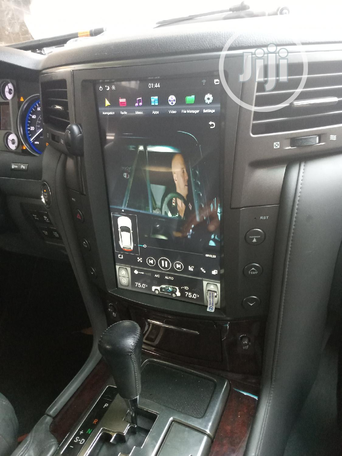 LX 570 Lexus Android Touch Screen