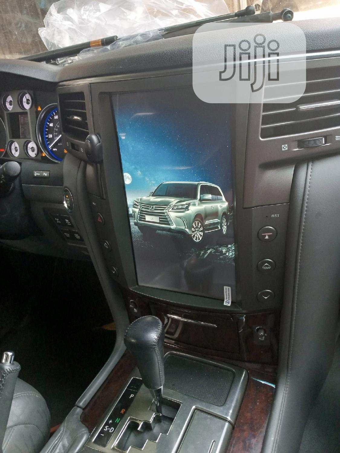 LX 570 Lexus Android Touch Screen | Vehicle Parts & Accessories for sale in Mushin, Lagos State, Nigeria