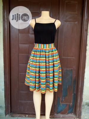 Ankara High Waisted Skirt | Clothing for sale in Ogun State, Ifo