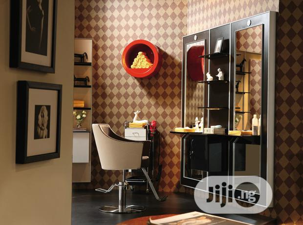 Saloon Styling Chairs And Mirrors