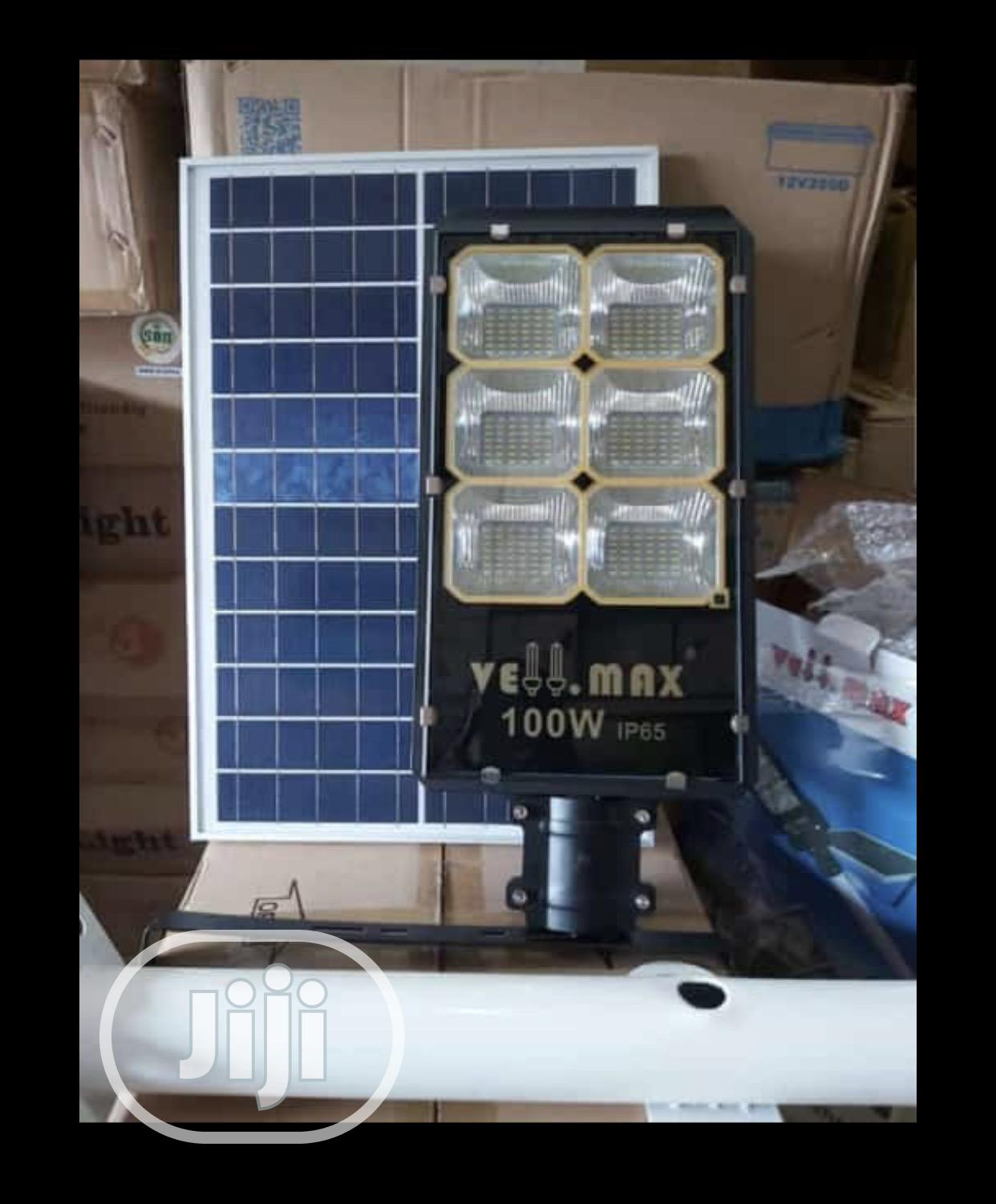 Archive: 100watts Solar All in One Street Light