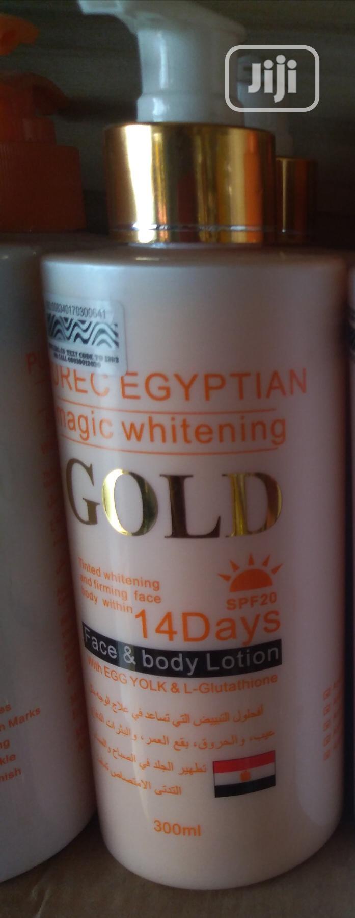 Purec Egyptian Magic Whitening Lotion Gold