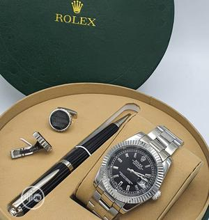 Top Quality Rolex Designer Time Piece /Complimentary Pen and Cufflinks | Watches for sale in Lagos State, Magodo